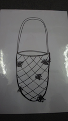 Image of a hand-drawn basket